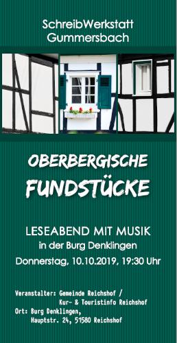 2019 Lesung Burg Denklingen