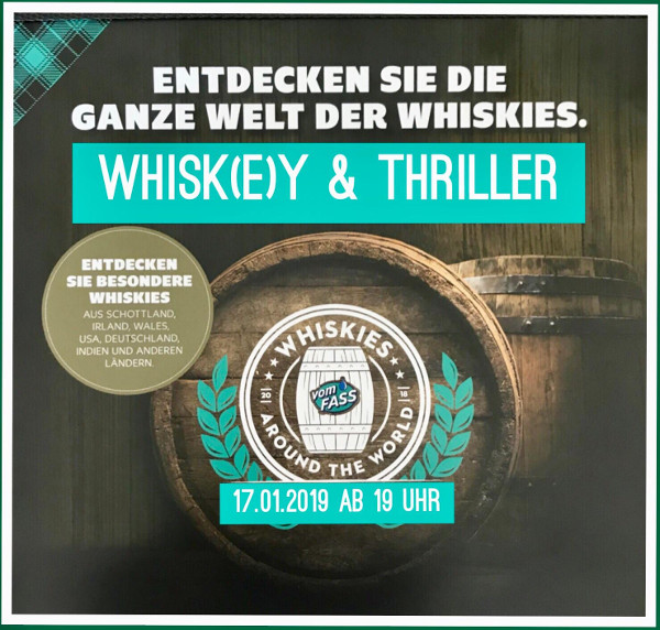 Lesung Whisky-Tasting
