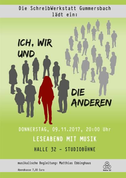 """2017 Lesung """"Ich, wir und die anderen"""""""